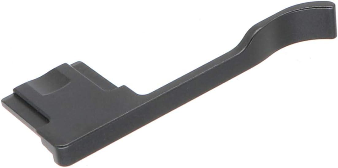 HITHUT Hot Shoe Thumb Grip for Ricoh GR II GR III Digital Camera Made of Aluminum Alloy Black