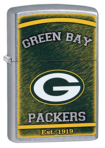 Zippo NFL Green Bay Packers (Green Bay Packers Zippo Lighter)