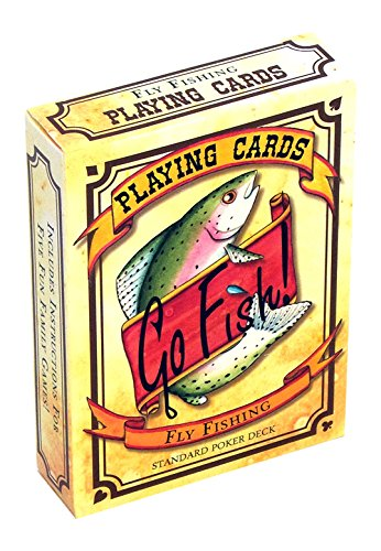 Go Fish Fly Fishing Playing Cards Authors Card Deck
