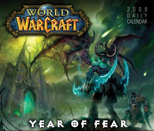 World of Warcraft 2009 Daily Boxed Calendar (2009 Box Calendar)