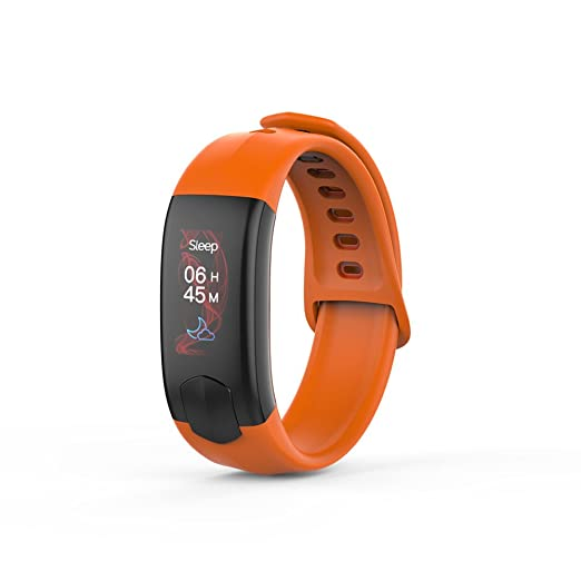 Tech Código Smart Pulsera Pulsómetro Tensiómetro de fitness Reloj ...