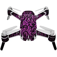 Skin For Yuneec Breeze 4K Drone – Purple Style | MightySkins Protective, Durable, and Unique Vinyl Decal wrap cover | Easy To Apply, Remove, and Change Styles | Made in the USA