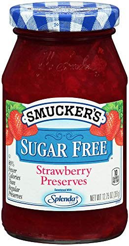 (Smucker's Sugar Free Strawberry Preserves, 12.75 Ounce)