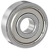 625ZZ 5mm x 16mm x 5mm Shielded Deep Groove Precision Ball Bearings-3000 Bearings