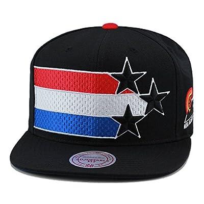 "Mitchell & Ness NBA All Star Game 1975 ""Phoenix"" Snapback Hat Black/XL Logo"