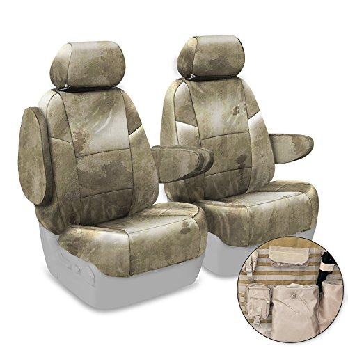 Coverking Custom Fit Center 50/50 Bucket Tactical Seat Cover for Select Mazda 5 Models - Cordura/Ballistic A-TACS Camo (Arid/Urban) ()