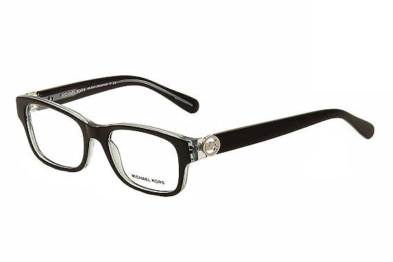michael kors ravenna mk8001 eyeglass frames 3001 51 blackblue