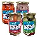 Jolene's Jar Pickled Vegetable Variety Pack – 4 / 16oz Jars