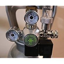 Aquarium CO2 Regulator with bubble counter, Cylinders Pressure Regulator (110v)
