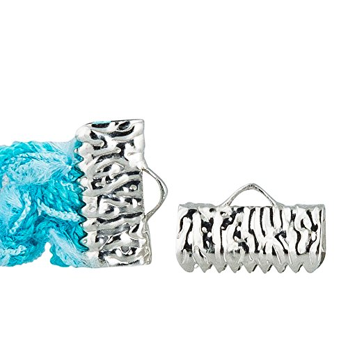 - Twilight's Fancy 16 pieces Artisan Series Ribbon Clamps End Crimps (13mm (1/2