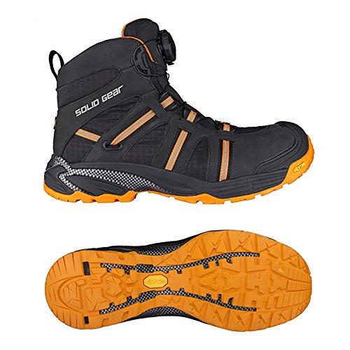 Solid Gear sg8000743Phoenix GTX–Zapatos de seguridad S3talla 43NEGRO/NARANJA
