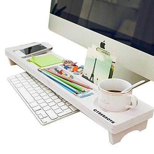 (CYBERNOVA Desk Organiser Office Small Objects Storage Keyboard Commodity)