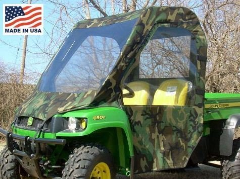 GCL UTV John Deere Gator HPX XUV Full Cab Enclosure with Vinyl Windshield. JDGXUV-FCE
