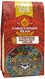 Christopher Bean Coffee Flavored Ground Coffee, Cinnamon Hazelnut, 12 Ounce