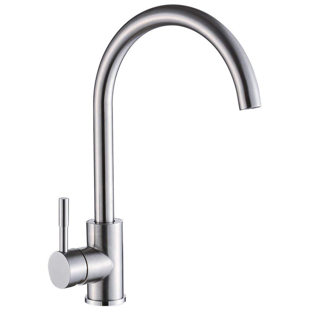 SEEKSUNG Sink Taps 304 Stainless Steel Kitchen Faucet Sink hot and Cold Sink Faucet Sink Mixer Faucets