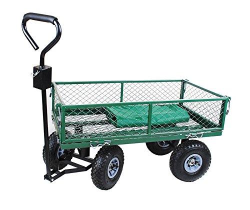 Handwagen Bollerwagen mit Plane Transportkarre Garten Wagen Karre Neu #579