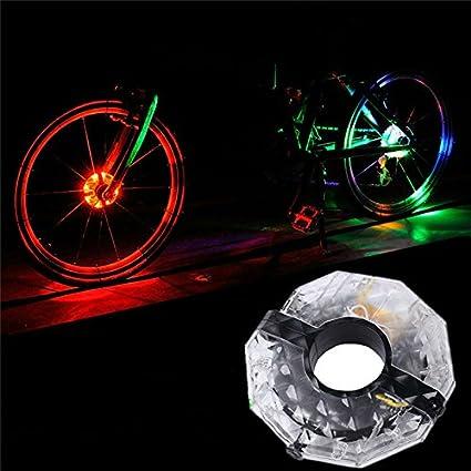 Bike Wheel LED Lights Waterproof Bicycle Spoke Light String Cycling Rechargeable