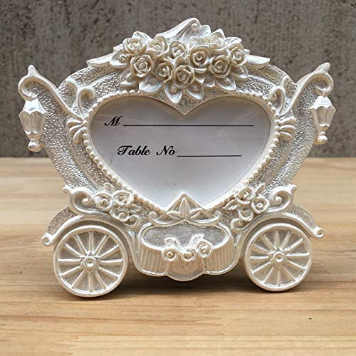 Autumn Water Fast Delivery Factory Directly Small Photo Wedding Carriage Whole Mini-Branch Elegant Place Card Holder Photo Frame