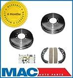 Mac Auto Parts 127399 4 Runner Tacoma Tundra (2) 350 Rear Brake Drum Brake Shoes Spring Kit
