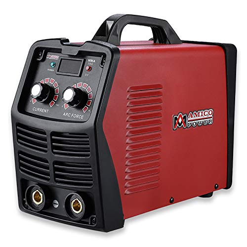 MMA-160, 160 Amp Stick Arc IGBT Digital Inverter DC Welder, 110V/230V Dual Voltage Input Welding. ()