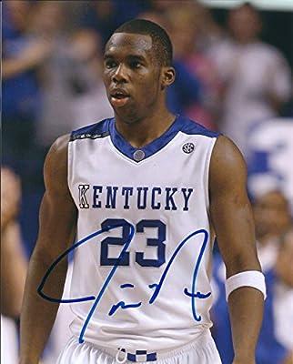 Autographed Jodie Meeks University of Kentucky Wildcats 8x10 photo