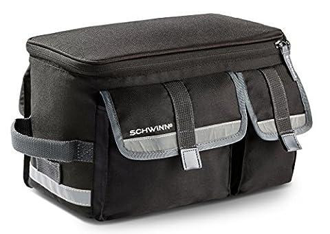 Schwinn Rack Top Bag with Reflective Strip - Schwinn Bike Accessories