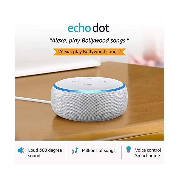 51FoLdtwr1L Echo Dot (3rd Gen) – Smart speaker with Alexa (White)