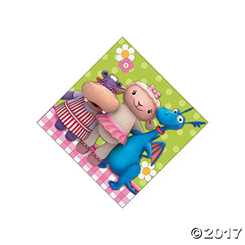 Doc McStuffins Small Napkins (16ct)