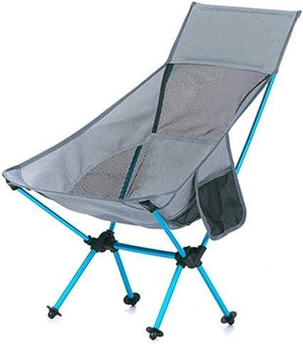 Silla Plegable Camping Ultraligera Aire Libre Portátil con ...