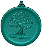 Kitras 3-Inch Tree of Life Suncatcher, Green