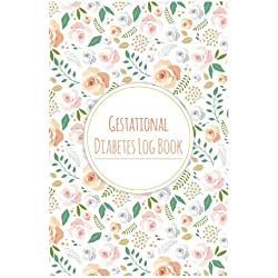 """Gestational Diabetes Log Book: Keep record of Daily Blood Sugar & Food Journal Portable Size 6x9"""" 100Pages"""
