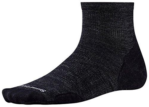 Smartwool Men's PhD Outdoor Ultra Light Mini (Charcoal) Large (Smartwool Ultralight Socks)