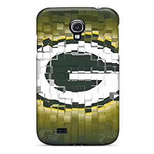 Case Covers For Galaxy S4 With Nice Green Bay Packers Appearance