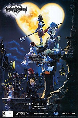 CGC Huge Poster - Kingdom Heart Original Promotional Art PS4 PS3 PS2 II III Remix- EXT677 (24