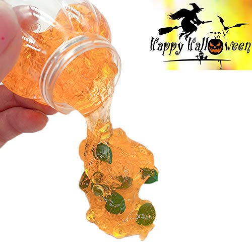 AMOFINY Baby Toys Halloween Spider Colours Mixing Cloud Slime Putty Scented Stress Kids Clay -