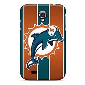 Perfect Hard Phone Covers For Samsung Galaxy S4 With Provide Private Custom Attractive Miami Dolphins Image NataliaKrause