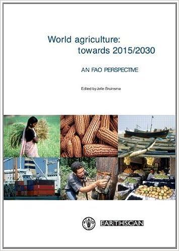 World Agriculture: Towards 2015/2030: An FAO Study (2003-04-03)