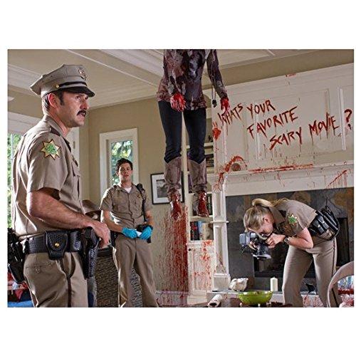 Scream David Arquette as Dewey at Crime Scene