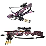 Crossbow for Women - SA SPORTS Fever Crossbow Package, Muddy Girl, Size 1