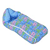 Kuber Industries 3 In 1 Baby Bed Cum Bedding Set/ Baby Carrier/ Sleeping Bag (KI3454)