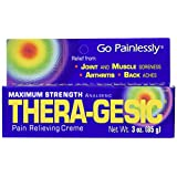 Mission Pharmacal Thera-Gesic Penetrating Pain Relief Cream, 3 Ounce