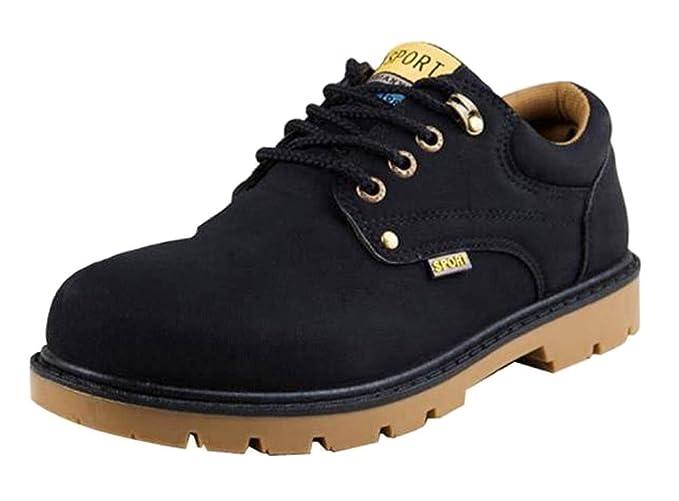 Minetom Zapatos Para Hombre Oxford Shoes Zapatos Con Cordones Botines Adventure Adulto Senderismo Trekking Botas Náuticos Zapatillas: Amazon.es: Ropa y ...