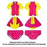 Rashoodz Cloth Reusable Baby Girls Swim Diaper