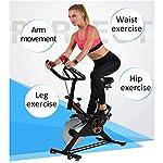 YIHUI-Cardio-Bicicletta-Spinning-Bike-Professionale-per-Casa-Bici-da-Spinbike-Cyclette-Fitness-Palestra-Workout-Regolazione-del-Sellino-Manubrio-Ottimo-per-Un-Allenamento-di-Tipo-CasalingoNero