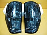 Tail Light Rear Lamp Smoke Lens for All New Ford Ranger Xl Xlt Px T6 Wildtrak Hi-rider 2012 2013 2014 2015 Pair