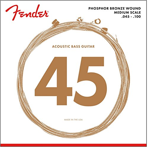Fender Phosphor/Bronze Bass Guitar Strings, Custom