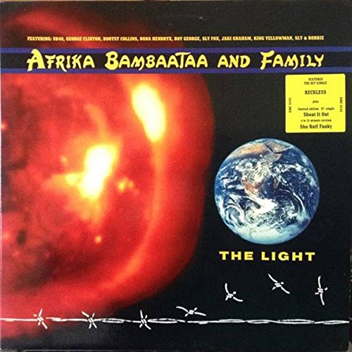 - Afrika Bambaataa & Family - The Light - EMI - EMC 3545, EMI - 12BAM1