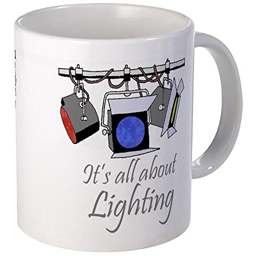 CafePress It39;S All About Lighting Coffee Mug Mugs Unique Coffee Mug, Coffee Cup (The Woman In Black Stage Play Script)