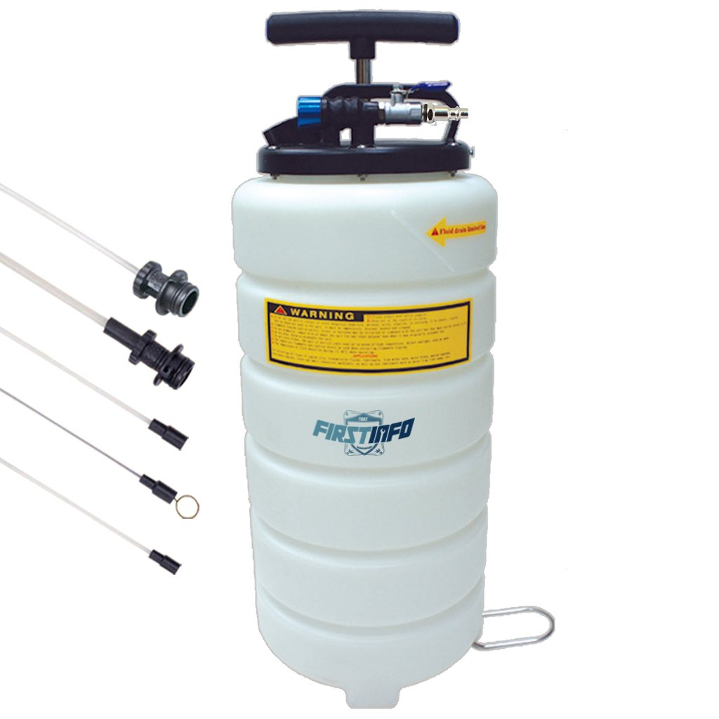 FIT TOOLS 15L Pneumatic and Manual Operation Oil or Fluid Extractor with 5 pcs Hose FIRSTINFO TOOLS Co. Ltd. A1106Y2