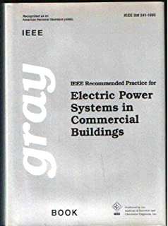 ieee recommended practice for electric power systems in commercial buildings ieee gray book std - Ieee Color Books